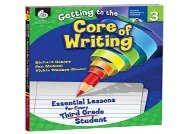 #PDF~ Getting to the Core of Writing: Essential Lessons for Every Third Grade Student (Grade 3) epub ready