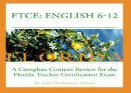 #PDF~ FTCE: English 6-12 A Complete Content Review for the Florida 6-12 English Teacher Certification Exam (pdf,epub,txt)