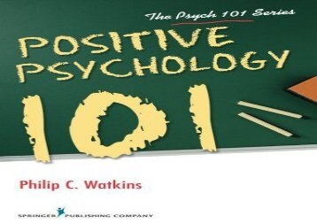 Full download positive psychological assessment a handbook of read positive psychology 101 the psych 101 series full ebook fandeluxe Gallery