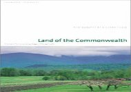 Read Land of the Commonwealth: A Portait of the Conserved Landscapes of Massachusetts | Online