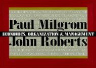 Free Economics, Organization and Management | pDf books
