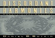 Download Discordant Harmonies: A New Ecology for the Twenty-First Century | Ebook