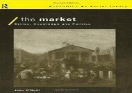 PDF The Market (Economics as Social Theory) | Ebook