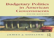 Free Budgetary Politics American Governments | Download file