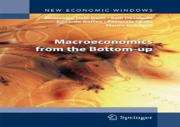 Read Macroeconomics from the Bottom-up (New Economic Windows) | Ebook