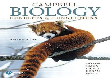 Download Campbell Biology: Concepts   Connections Plus Mastering Biology with Pearson Etext -- Access Card Package | PDF File