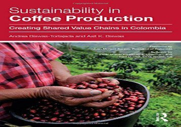 PDF Sustainability in Coffee Production: Creating Shared Value Chains in Colombia | PDF File