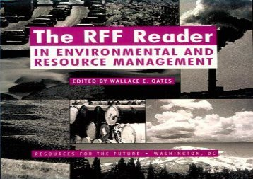 Download The RFF Reader in Environmental and Resource Management (RFF Press) | pDf books