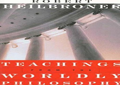 PDF Teachings from the Worldly Philosophy   pDf books