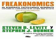 Read Freakonomics[Spanish Language] | Download file