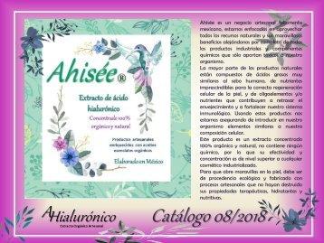 Catalogo Ahisee Jul 2018