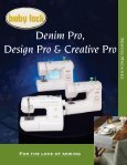 Denim Pro, Design Pro, & Creative Pro - Baby Lock - Page 2