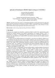 Aplicação da metodologia do PRODES digital em ... - OBT - Inpe