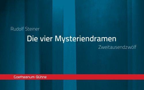 Download Die Broschüre PDF - Goetheanum-Bühne