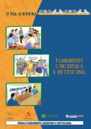 Planeamiento Concertado e Institucional - Mesa de Concertación ...