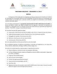 PROCESSO SELETIVO - PRODERNA 01/2013 EDITAL O Programa ...
