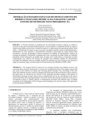 mineração em dados espaciais de desmatamento do prodes