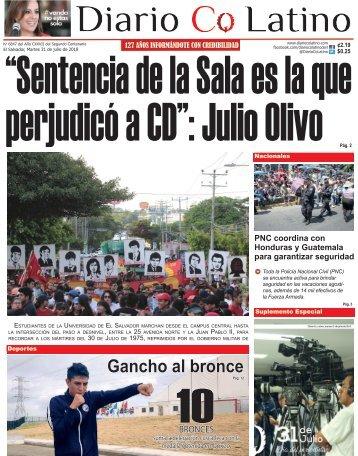 Edición 31 de Julio de 2018