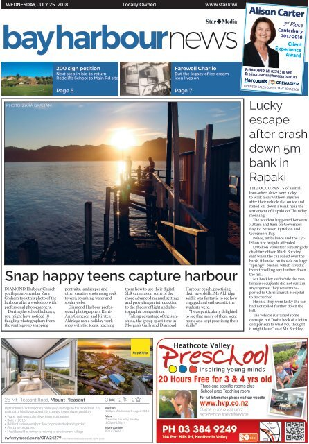 Bay Harbour: July 25, 2018