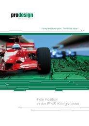 Firmenprospekt - Pro Design Electronic GmbH