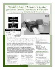 2012 UL-247 Sheet page 1 - United Label