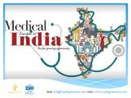 Best Medical Tourism and Healthcare services in India - healing touristry
