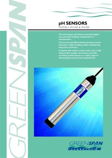 pH SENSORS - Design & Manufacture of Telemetry Systems