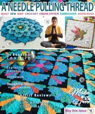 A Needle Pulling Thread Issue 47 Sampler