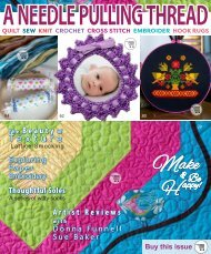 A Needle Pulling Thread Issue 46 Sampler