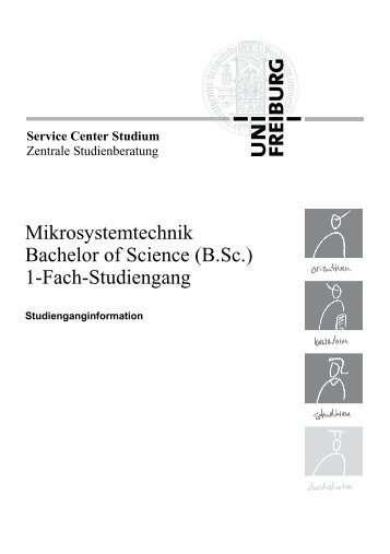 Mikrosystemtechnik Bachelor of Science (B.Sc.) 1-Fach-Studiengang
