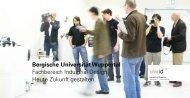 Bergische Universität Wuppertal Fachbereich Industrial Design ...
