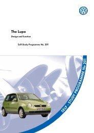 Self-Study Programme 201 The Lupo - VolksPage.Net
