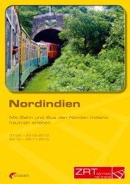 Nordindien - Zermatt Rail Travel