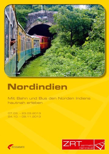 Nordindien - Zermatt Rail Travel