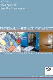 F rom A ccessability T o Z oning - Knowledge Bank - Ohio State ...