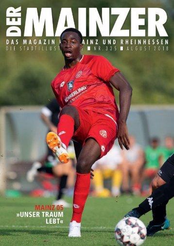 DER MAINZER - Das Magazin für Mainz und Rheinhessen - Nr. 335