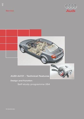 254 - Audi A4 2001 - Technology - Volkspage