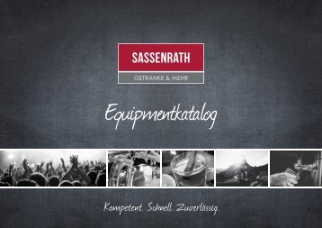 Equipmentkatalog Sassenrath