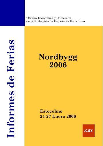 Informes de Ferias Estocolmo 24-27 Enero 2006 - Icex