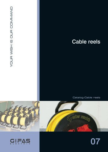 Cable reels - GIFAS Electric GmbH