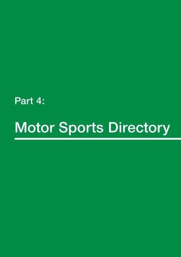 Layout - Motor Sports Association