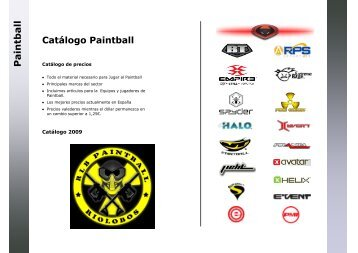 Pa in tb all Area - RLB PAINTBALL