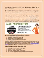 How to Troubleshoot Error 05 in Canon Pix ma MP237? Call +61-1800-431-295 for Quick Solution Service