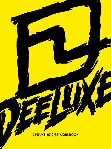 Deeluxe 2012.2013 Workbook Content - Michael Sudmeier