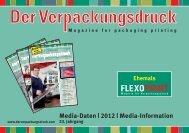 Media-Daten | 2012 | Media-Information - Der Verpackungsdruck