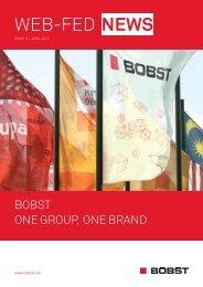 WEB-FED NEWS - ISSUE 5, APRIL 2012 - BOBST Media Center