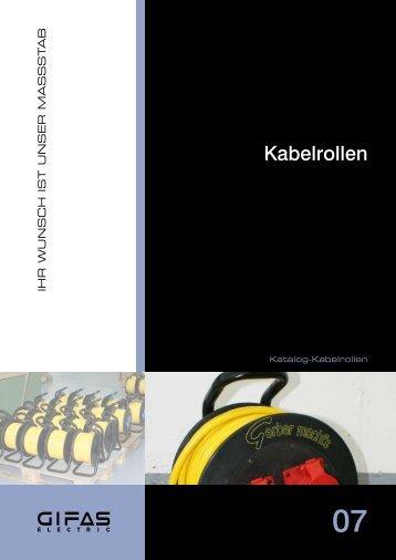 Kabelrollen - GIFAS Electric GmbH