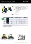 Kabelrollen - GIFAS Electric GmbH - Seite 4