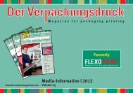 Media-Information | 2012 - Der Verpackungsdruck
