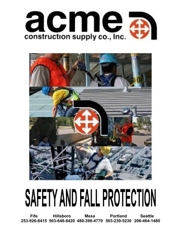 safety - Acme Construction Supply Inc